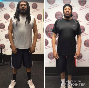 In 6 weeks Thomas lost 23 lbs and 6% body fat…